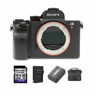 Sony Alpha a7RII Mirrorless Digital Camera + 2 Batteries, 32GB & More