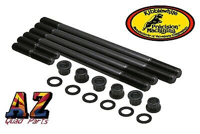 Yamaha Grizzly 700 Kibblewhite Stronger Heavy Duty Cylinder Head Studs Bolts Kit