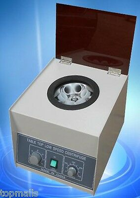 New LD-3 Electric Benchtop Centrifuge Lab Medical Practice 6*50ml 4000rpm