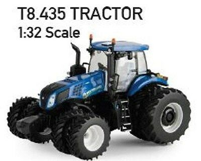 NEW HOLLAND T8.435 TRACTOR REPLICA DIECAST SCALE 1:32 Part# ERT13860