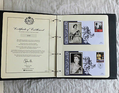 2006 QEII 80th BIRTHDAY COMMEMORATIVE COVER AND UNMOUNTED MINT STAMP COLLECTION