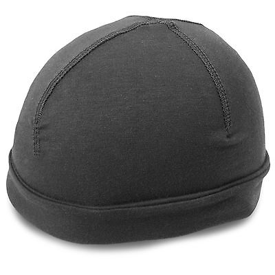 Elite Tactical Lightweight Breathable Wicking Under Helmet Skull Cap Liner Black