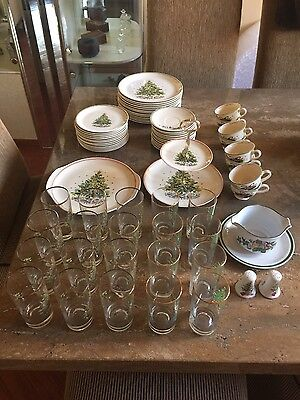 "Lot of Salem ""Christmas Eve"" set Original by Viktor Schreckengost"