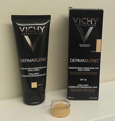 VICHY DERMABLEND Total Body Foundation - 2ml, 5ml & 10ml Samples - ALL 3 SHADES