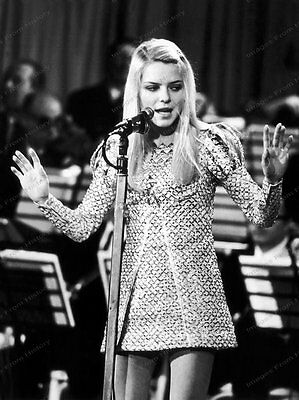 8x10 Print France Gall French Pop SInger Italy 1969 #FG99