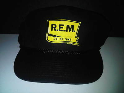 REM R.E.M. Out Of Time Baseball Hat 1991 IMPOSSIBLE TO FIND