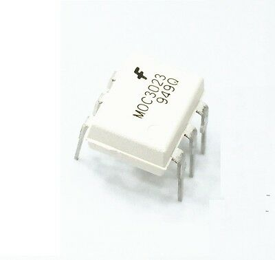 50Pcs Moc3023 Optocoupler Triac-Out 6-Dip Fsc New