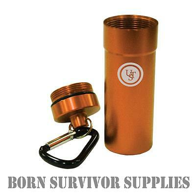 Ultimate Survival BASE CASE 1.0 - Waterproof Storage Capsule Box Container Kit