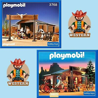 Playmobil * SILVER RANCH 3768 3769 * SNAKE RIVER 3805 * SPARE PARTS SERVICE *