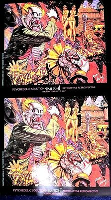 Robert Williams Original - Limelight (Double) Psychedelic Solutions 1987