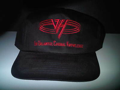 Van Halen New For Unlawful Carnal Knowledge Hat 1991 IMPOSSIBLE TO FIND
