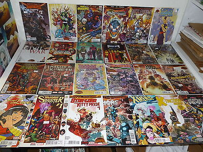 SECRET WARS - Lot of 25 #1 Issues - HOUSE of M  Inferno X-MEN '92  2099 - Lot 3