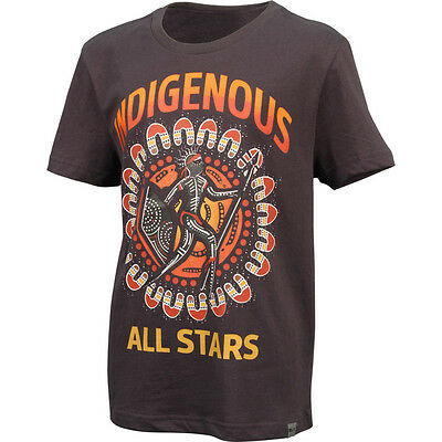 Indigenous All Stars NRL 2016 IAS BLK Graphic T Shirt Size S-5XL! BNWT's!