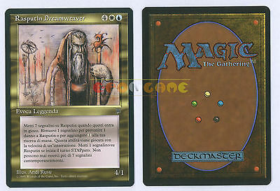 MTG MAGIC - Rasputin Dreamweaver - Italiana Leggende Legends LEG MINT - 1995