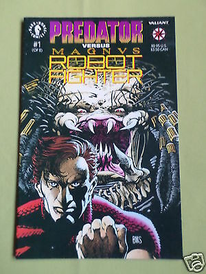 Predator Vs Magnus Robot Fighter - Dark Hourse Comic - #1 - Nov 1992