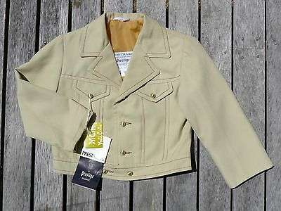Vintage retro true 60s age 3 4  unused childrens boys jacket coat NOS as new