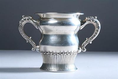 Vintage Sterling Silver Cup From Racquet Club Turnament 1900 Hamilton Die Singer
