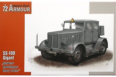 SPECIAL ARMOUR SA72001 1/72 Heavy Tractor SS-100 Gigant