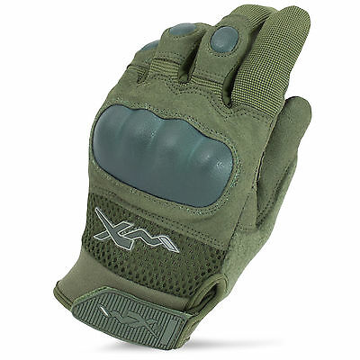 Wiley X Durtac Breathable Tactical Military Army Combat Knuckle Gloves OD Green