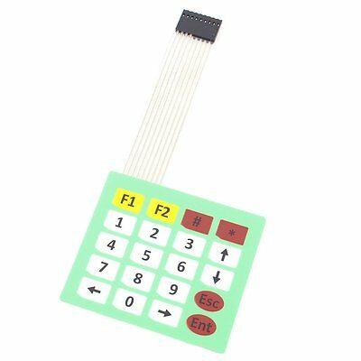 5PCS 4x5 Matrix Array 20 Key Membrane Switch Keypad Keyboard 4*5 Key For Arduino
