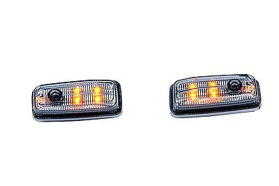 LED Side Markers Lamp Light Blinker Smoke for Mercedes Benz W463 G Class Wagon