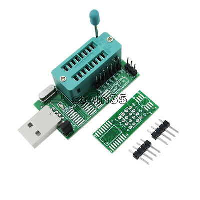 Multifunction CH341A Router USB Programmer LCD Burner Bios Board 24 25 Series