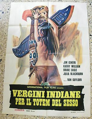 Manifesto Vergini Indiane Per Il Totem Del Sesso Jim Gentri Kathy William V4 2F