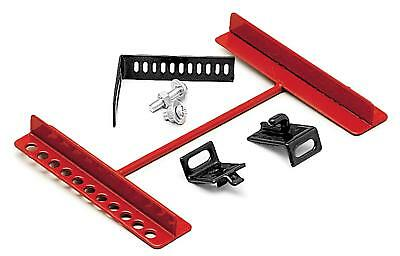 Performance Tool Battery Hold-Down Clamp Style Steel Red Kit