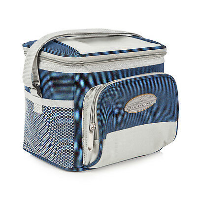 Coast & Country 6 Can Large Picnic Drinks Box Shopping Cooler / Lunch Bag FS