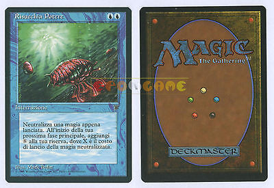MTG MAGIC Risucchia Potere Mana Drain - Italiana Leggende Legends LEG MINT 1995