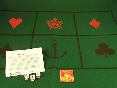 Crown and Anchor - Brand New Dice Game
