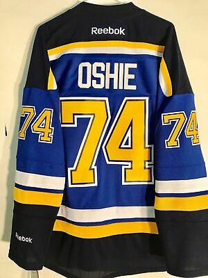 NHL St. Louis Blues TJ Oshie Premier Ice Hockey Shirt Jersey