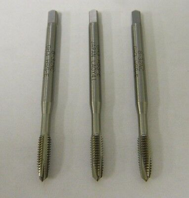 """Widia 86204 8"""" - 32 H3 3 Flute Spiral Point Taps Lot of 3"""