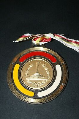 BAD015 Medaille Eisstockschiessen Forchtenstein 1987