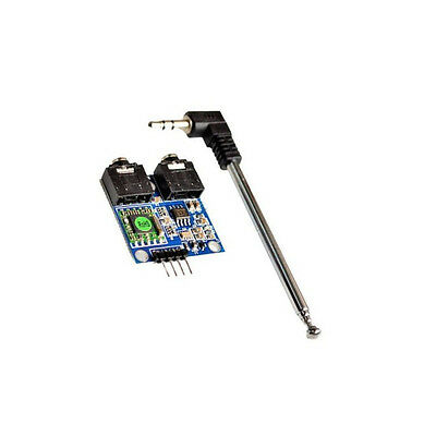 1PCS 76-108MHZ TEA5767 FM Stereo Radio Module + Cable Antenna for Arduino