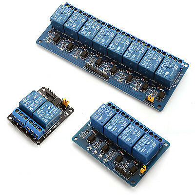 5V 10A 2/4/8 Channel Relay Board Module for Arduino Raspberry Pi ARM AVR DSP PIC
