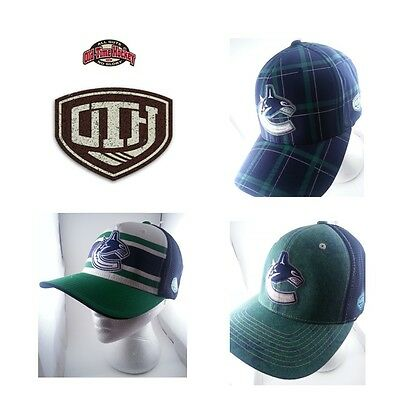 Old Time Hockey Vancouver Canucks CAPS FlexFit [NEW] [Genuine] Vintage Style