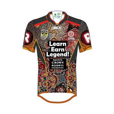 Indigenous All Stars NRL 2016 IAS BLK Indigenous Jersey Toddlers Sizes! BNWT'S!