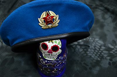 Russian, Soviet Army military VDV Airborne Blue Beret