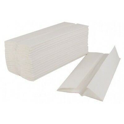 2400 LUXURY White C-Fold Multi Fold Paper Hand Towels 2 Ply BUY 2+ GET 10% OFF