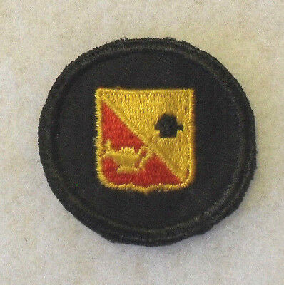 Wwii Ordn Ocs Cap Patch Style With Di In Center On Black Twill Minor P&g Ce