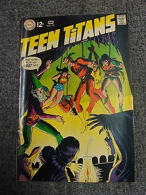 """Teen Titans #19 (1969) """"Stepping Stones for a Giant Killer!"""" * DC Comics *"""