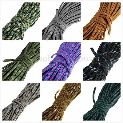 New 550Paracord Parachute Cord Lanyard Mil Spec Type III 7 Strand Core 100FT 30M