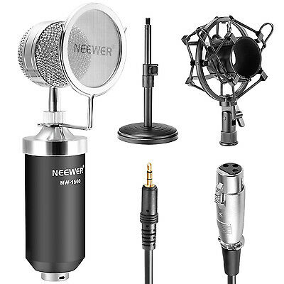 Neewer NW-1500 Professional Desktop Broadcasting&Recording Condenser Microphone