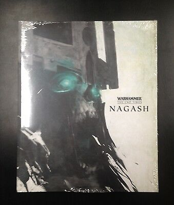 Warhammer The End of Times NAGASH in inglese (Nuovo e sigillato)