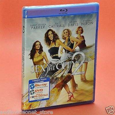SEX AND THE CITY 2 COMBO PACK BLU-RAY e DVD Sarah Jessica Parker Kim Cattrall