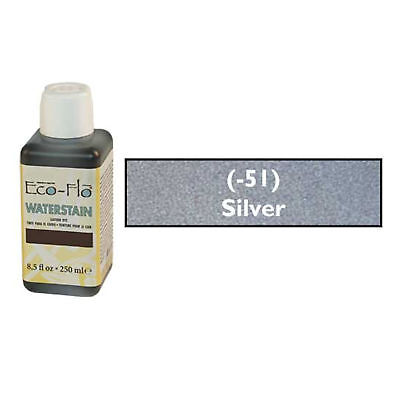 Eco Flo Professional Waterstain Silver 250 ml (8.5 fl oz.) 2800-51 Tandy Dyes