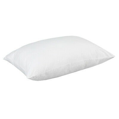 4x or 8x New Natural Cotton Cover Pillow Protector w/ Zip Closure 46x73 cm