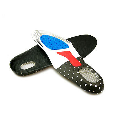 Sports Shoe Insoles Cushion With Orthotic Arch Support For Flat Foot Pain Relief