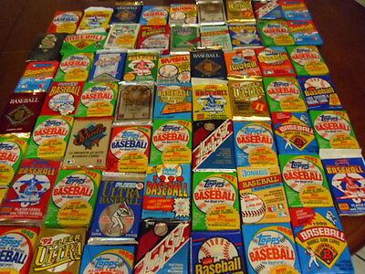 100 Old Baseball Cards In Unopened Packs! TWO FREE Hall Of Famer Cards Every Lot